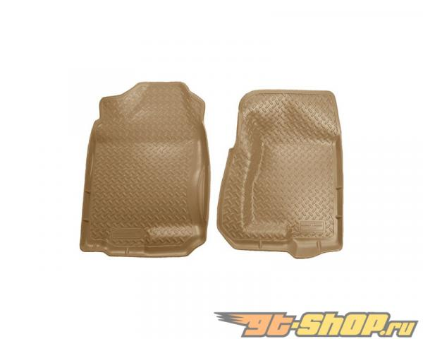 Husky Liners передний  Floor Liners | Classic Стиль Series Tan Cadillac Escalade 02-06
