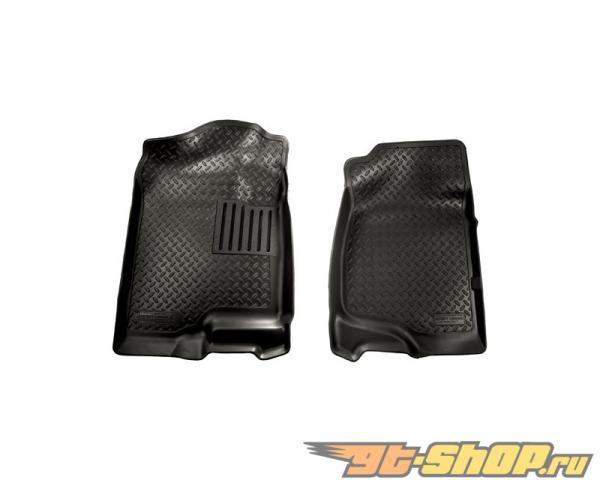 Husky Liners передний  Floor Liners | Classic Стиль Series Чёрный Cadillac Escalade 07-14