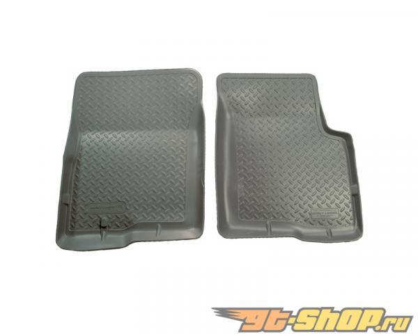 Husky Liners передний  Floor Liners | Classic Стиль Series Grey Cadillac Escalade 99-00