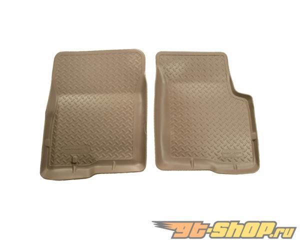Husky Liners передний  Floor Liners | Classic Стиль Series Tan Cadillac Escalade 99-00