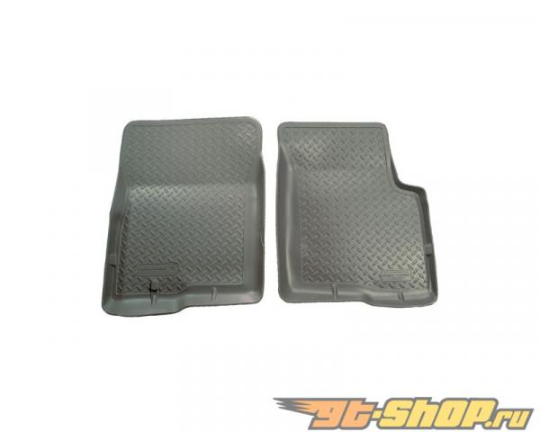 Husky Liners передний  Floor Liners | Classic Стиль Series Grey Nissan Frontier King Cab Pickup 05-14