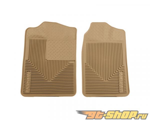 Husky Liners передний  Floor Mats | Heavy Duty Floor Mats Tan Cadillac Escalade 99-00