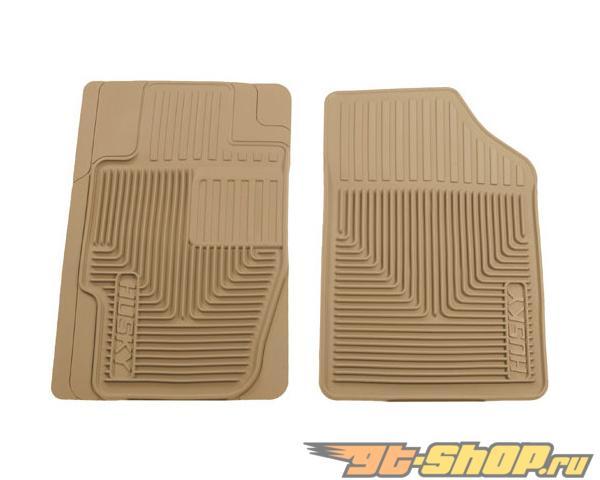 Husky Liners передний  Floor Mats | Heavy Duty Floor Mats Tan Ford Fusion 06-08