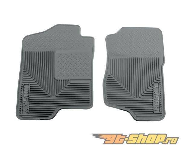 Husky Liners передний  Floor Mats | Heavy Duty Floor Mats Grey Cadillac Escalade Esv 07-14
