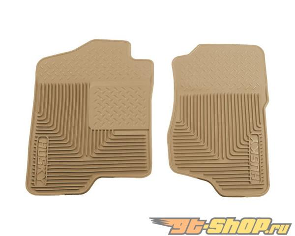 Husky Liners передний  Floor Mats | Heavy Duty Floor Mats Tan Cadillac Escalade Esv 07-14