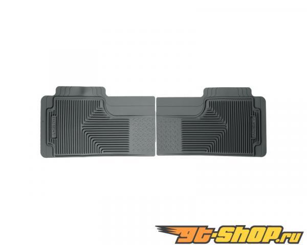 Husky Liners 2nd or 3rd Сидения Floor Mats | Heavy Duty Floor Mats Grey GMC C2500 Extended Cab Pickup 88-00