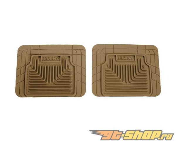 Husky Liners 2nd or 3rd Сидения Floor Mats | Heavy Duty Floor Mats Tan Cadillac Escalade Esv 2010