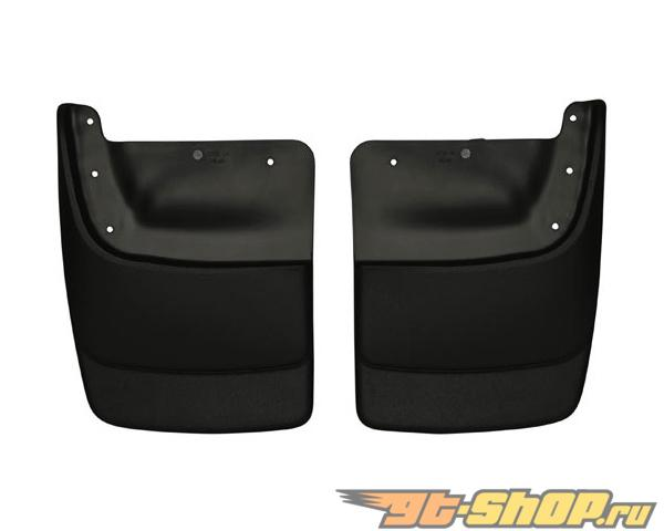 Husky Liners задний Mud Guards | Custom Mud Guards Чёрный GMC Envoy Denali 05-09
