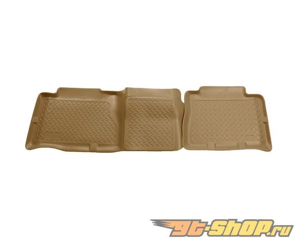 Husky Liners 2nd Сидения Floor Liner | Classic Стиль Series Tan Cadillac Escalade 02-06