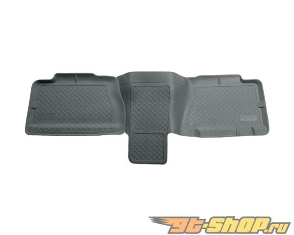 Husky Liners 2nd Сидения Floor Liner | Classic Стиль Series Grey GMC Yukon Xl 1500 Denali 01-06