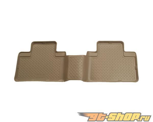 Husky Liners 2nd Сидения Floor Liner | Classic Стиль Series Tan Nissan Armada 05-14