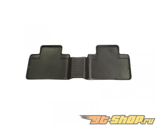Husky Liners 3rd Сидения Floor Liner | Classic Стиль Series Чёрный Cadillac Escalade Esv 2nd Row Bench Seats with 60 | 40 Split Bench 07-10