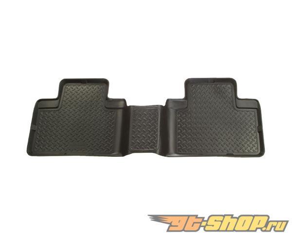 Husky Liners 3rd Сидения Floor Liner | Classic Стиль Series Чёрный Cadillac Escalade Esv 03-06