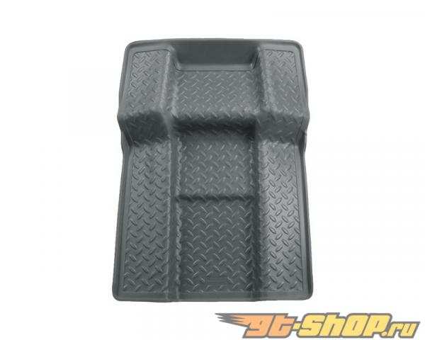 Husky Liners Walkway Floor Liner | Classic Стиль Series Grey Cadillac Escalade Base 09-10