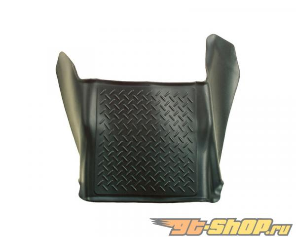 Husky Liners Center Hump Floor Liner | Weatherbeater Series Чёрный GMC Sierra 2500 HD SLE Crew Cab Pickup 2007