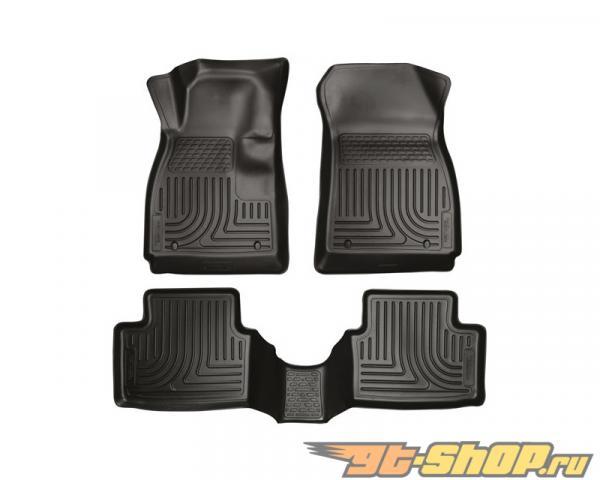 Husky Liners передний  & 2nd Сидения Floor Liners | Weatherbeater Series Чёрный Mazda 6 Grand Touring 14-15