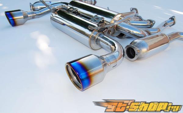 Invidia Gemini Выхлоп выхлоп Rolled Титан Tips Nissan 350Z 02-08