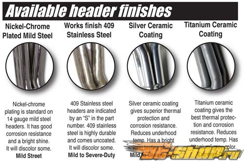 JBA Headers Титан керамические Coated Chevy  Avalanche 8.1L 01-03