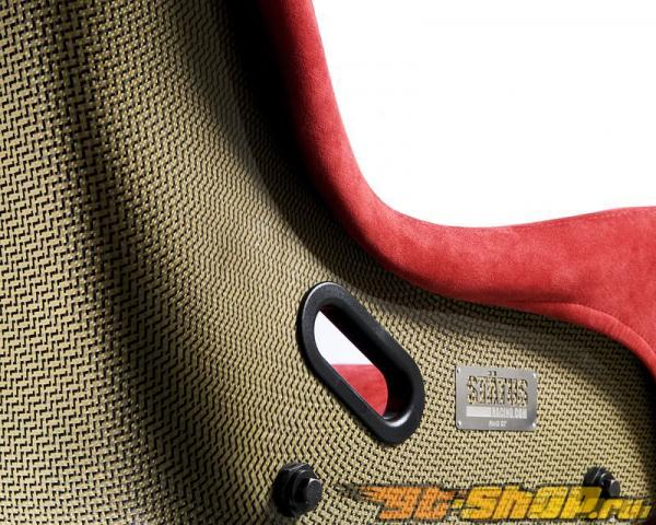 Status Racing Standard Ring GT Bucket Сидения Кевларовый Cloth