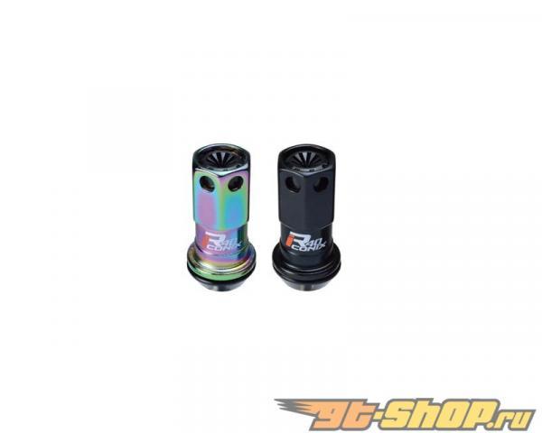 Kics R40 iCONIX M12x1.50 Чёрный Plastic Cap 20 части Set