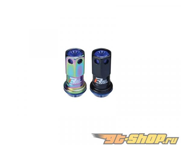 Kics R40 iCONIX M12x1.50 Синий Aluminum Cap 20 части Set