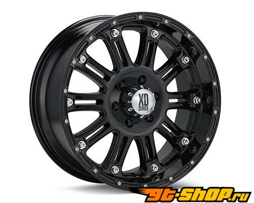 XD Series Hoss 17X9 8x165.1 -12mm Gloss Чёрный