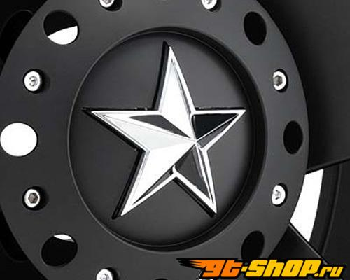 XD Series Rockstar 17x8 6x139.7 0mm Matte Чёрный