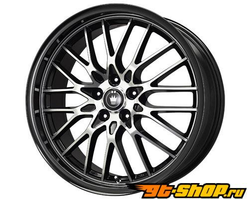 Konig Lace 19X8 5x120 35mm Чёрный Machined Face