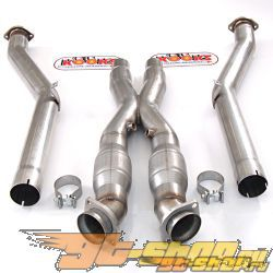 "Kooks X Pipe With Catalytic Converters 3"" Outlet Chevrolet Corvette 97-04"