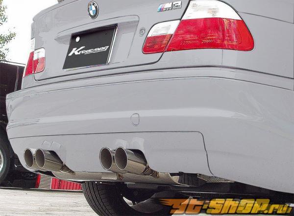 Kreissieg F1 Valvetronic выхлоп нержавеющий BMW E46 M3 01+