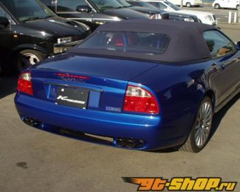 Kreissieg 4x76mm Valvetronic Выхлопная система Maserati Coupe/Spyder 98-01