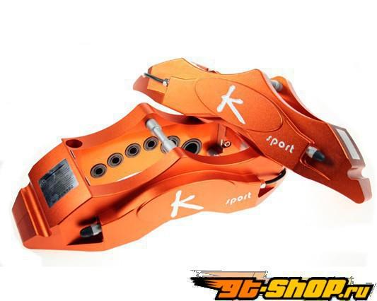 Ksport Procomp 12 поршневые 15in передний  Большой тормозной комплект Audi A3 Sportback Quattro 03-12