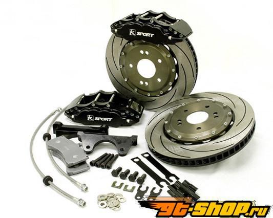Ksport Procomp передний  Большой тормозной комплект 12 In. Rotor 6 поршневые Суппорта Audi A3 Sportback 03+
