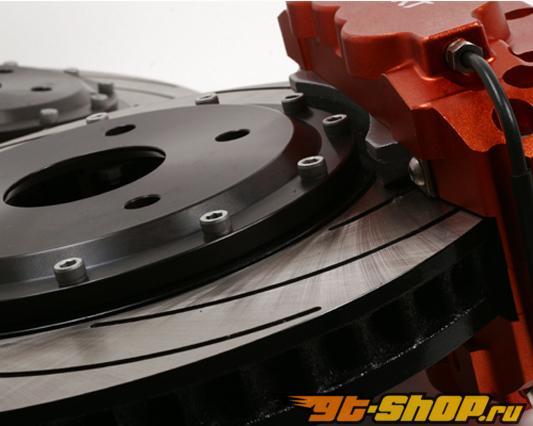 Ksport ProComp 8 поршневые 14in передний  Большой тормозной комплект Audi A3 2WD w/ 55mm стандартный Strut 06+