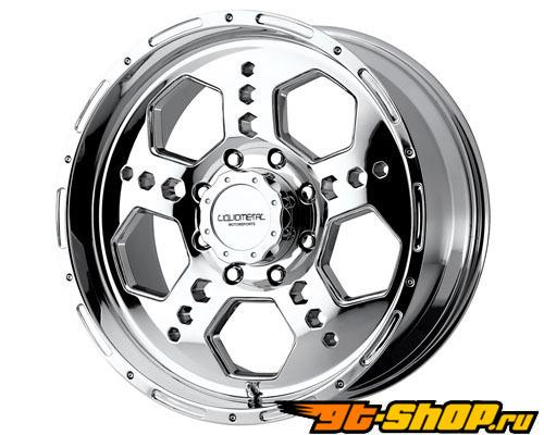 Liquid Metal Gatlin 17X9 8x165.1 10mm Хром