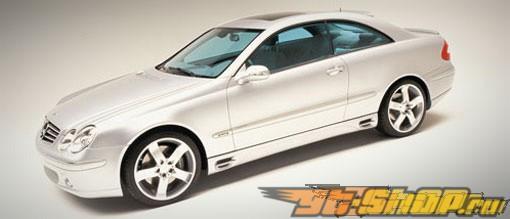 Правый порог Lorinser для Mercedes CLK C209 03+