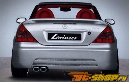 Задний бампер Lorinser для Mercedes SLK R170 97-04
