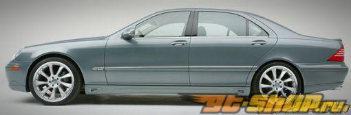 Левый порог Lorinser для Mercedes S Class V220 00+