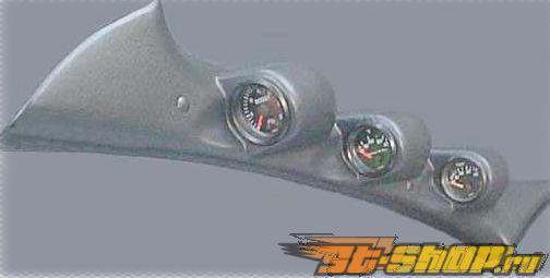 Lotek Triple A-Pillar Pod Mitsubishi Eclipse 2000