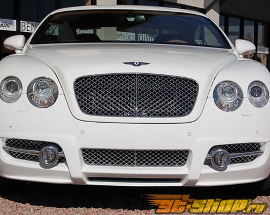 Решётка радиатора Mansory на Bentley Continental GT Speed 03+