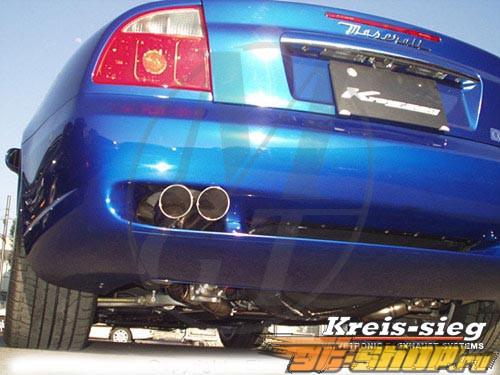 Meisterschaft SUS GT Racing Выхлопная система Maserati Quattroporte 06+