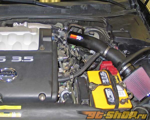 K&N 63 Series Aircharger Intake комплект Nissan Altima 3.5L V6 04-06
