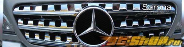 Решётка радиатора на Mercedes ML 1998-2005