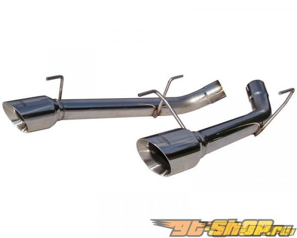 MBRP Pro Series Axle Back Muffler Delete Dual Split выхлоп Ford Mustang GT 05-10