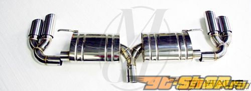 Meisterschaft SUS High Performance Touring Axle Back выхлоп Audi A4 3.2 V6 B8 седан 08+