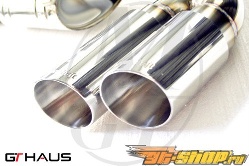 Meisterschaft SUS High Performance Touring Axle Back выхлоп Audi A4 3.2 V6 B8 седан 08+