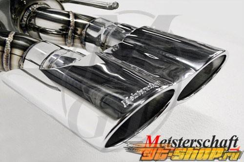 Meisterschaft SUS GT Racing Performance Axle Back выхлоп Oval Tip Mercedes-Benz C230 Kompressor седан W203 01-07