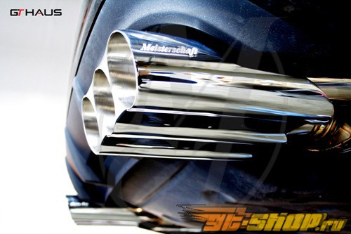 Meisterschaft SUS HP Touring Axle Back выхлоп Mercedes-Benz Bi-Turbo S65 AMG W220 99-06