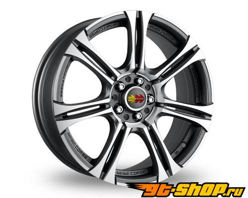 MOMO Next 18X8 5x112 45mm Matte Anthracite W/ Machined Face