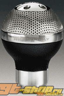 MOMO Sphere Чёрный Leather/Airmetal Shift Knob универсальный
